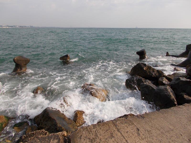 Mar de Constanta, Rom?nia imagens de stock royalty free