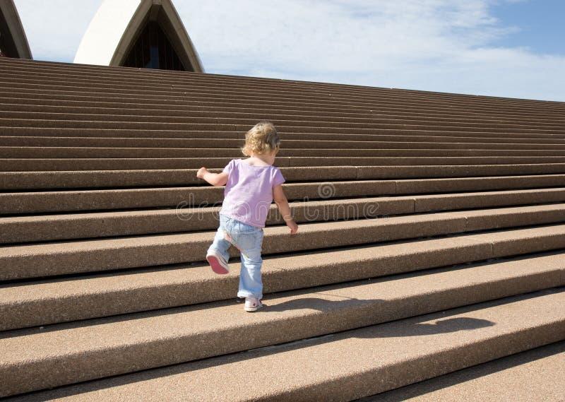 Mar de escaleras foto de archivo libre de regalías