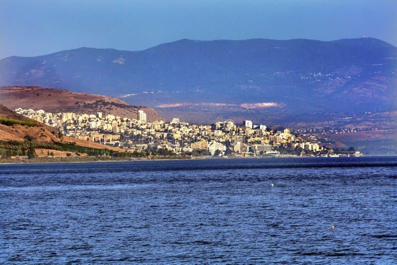 Mar de Galilea Tiberíades Israel fotos de archivo