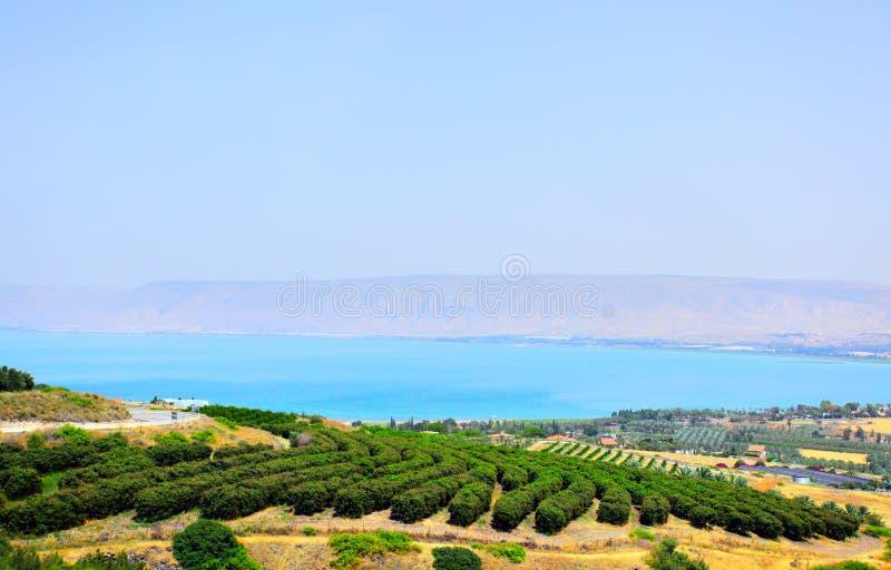 Mar de Galilee fotos de archivo libres de regalías