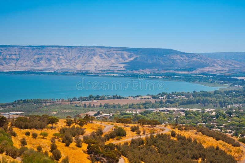 Mar de Galilee imagen de archivo