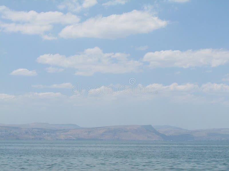 mar de galilee, Israel fotografia de stock royalty free