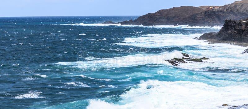 Mar de gran alcance foto de archivo