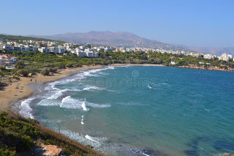 Mar de Grecia fotos de archivo libres de regalías