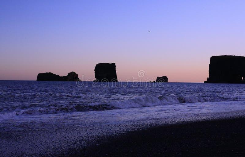 Mar de Islandia imagen de archivo libre de regalías