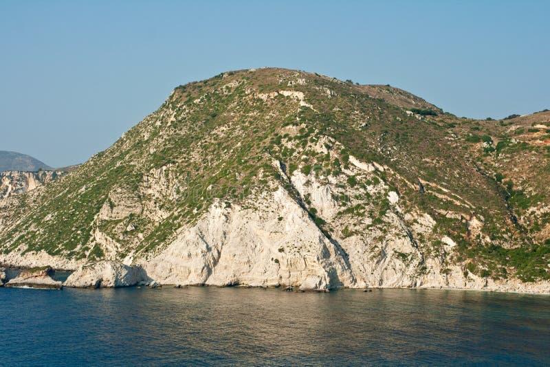 Mar de Kefalonia foto de archivo