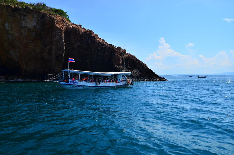 Mar de la isla del thalu de Prajueb Tailandia fotos de archivo libres de regalías