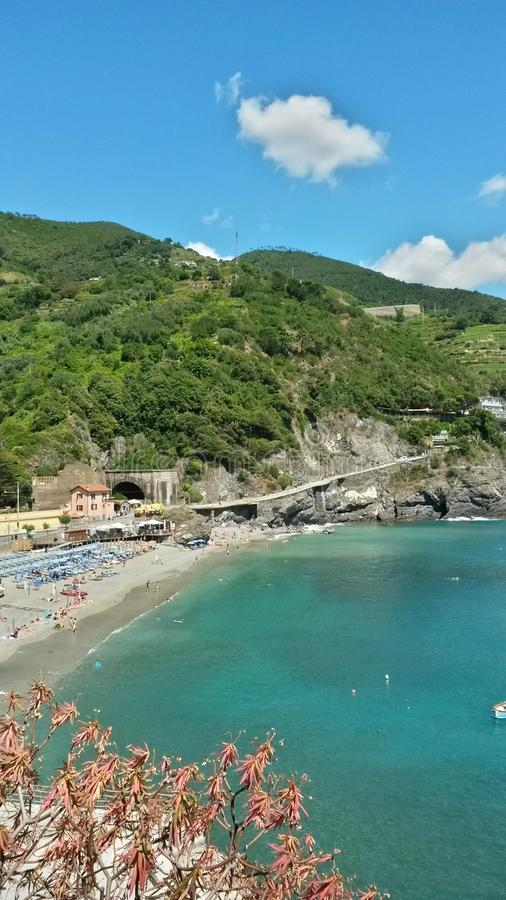 Mar de Liguria foto de stock
