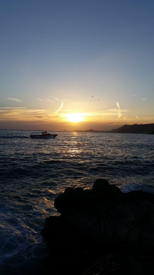 Mar de Mediteran foto de stock