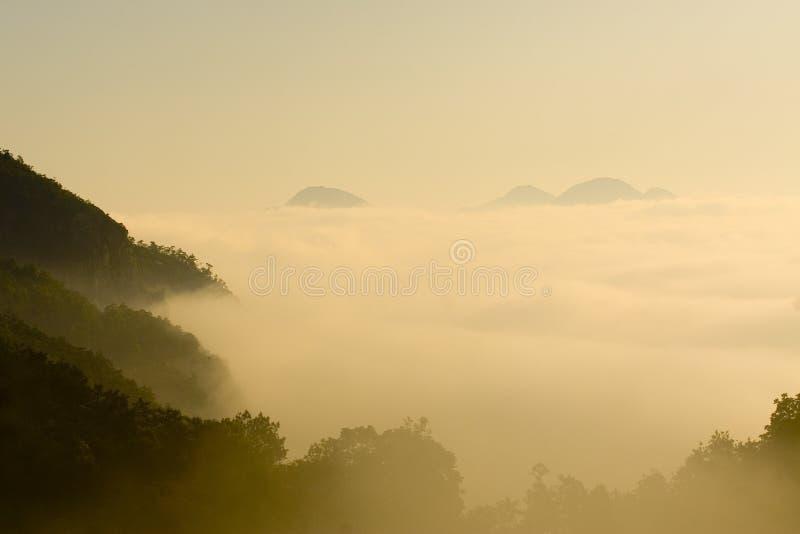 Mar De Nubes Fotos De Archivo
