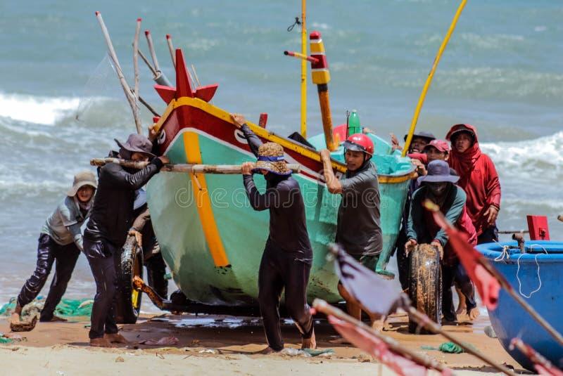 Mar de Phan Thiet fotografia de stock royalty free
