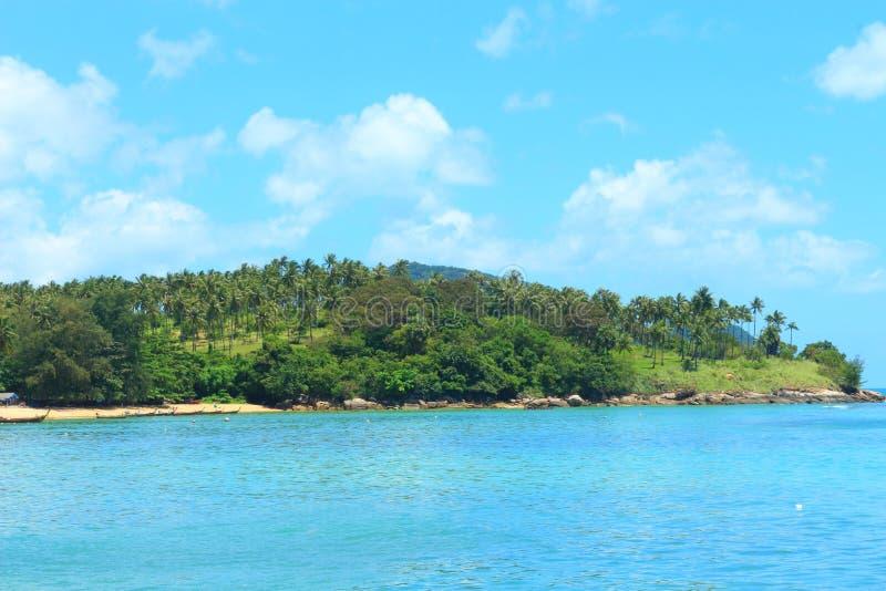 Mar de phuket 2 fotos de archivo libres de regalías