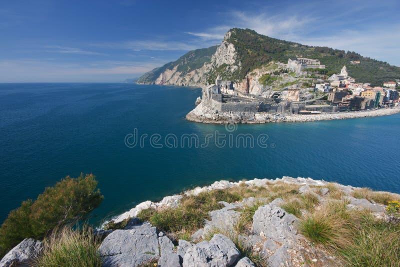 Mar de Portovenere foto de stock royalty free