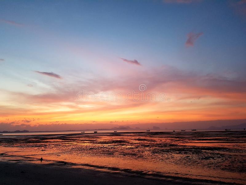 mar de Tailandia del trang del kohmook imagen de archivo libre de regalías