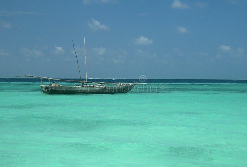 Mar de Tanzânia imagens de stock royalty free
