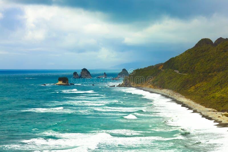 Mar de Tasman fotos de stock royalty free