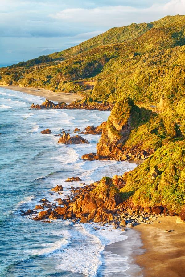Mar de Tasman imagens de stock royalty free
