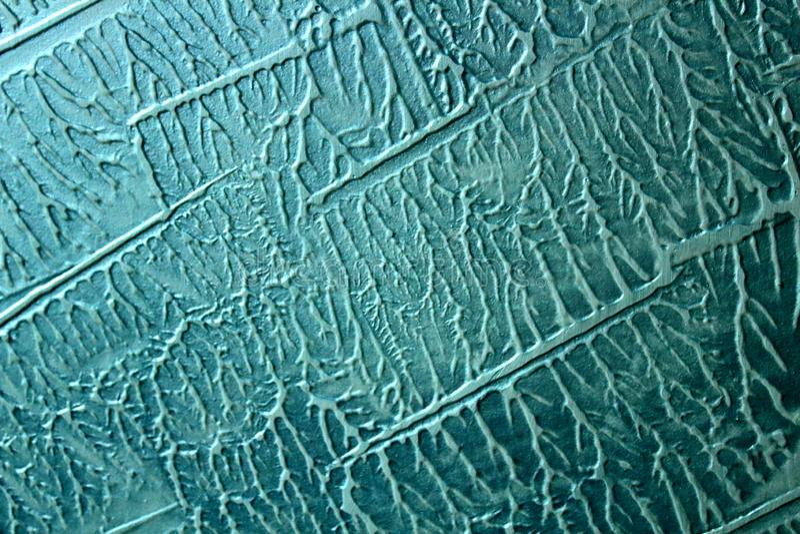 Mar decorativo del yeso fotografía de archivo