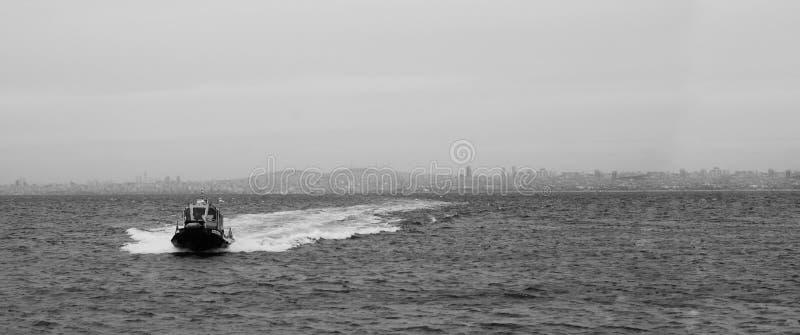 Mar del Bw imagen de archivo