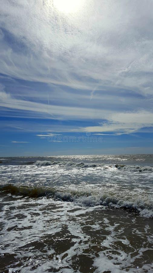 Mar del Norte fotografía de archivo libre de regalías