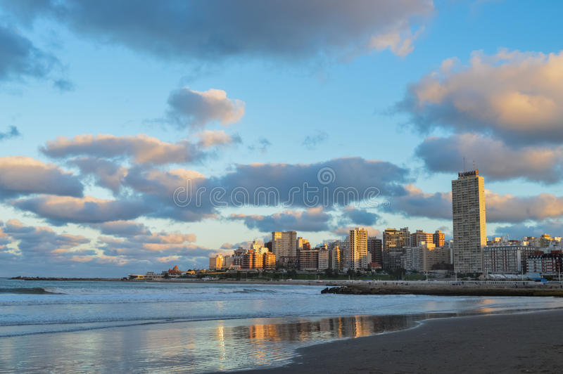 Mar del Plata imagen de archivo libre de regalías