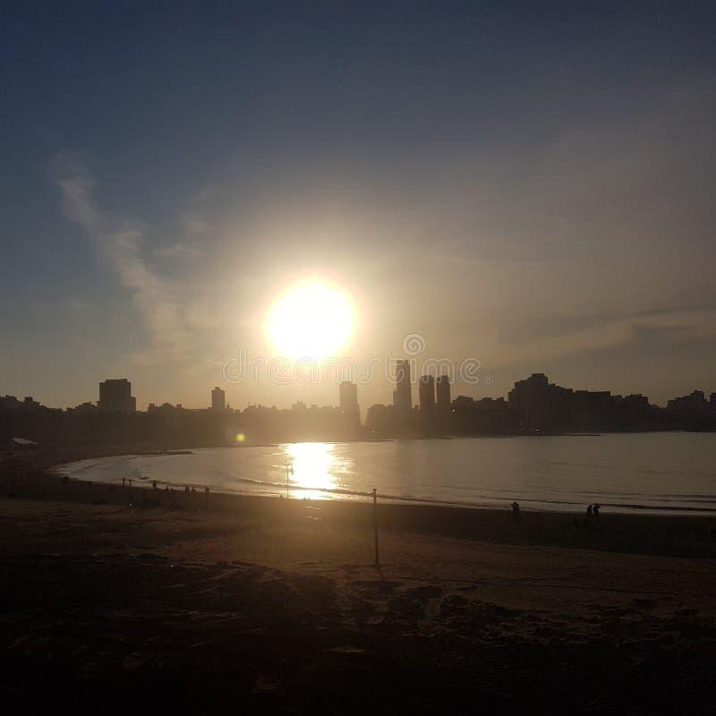 Mar Del Plata, Argentyna obrazy royalty free
