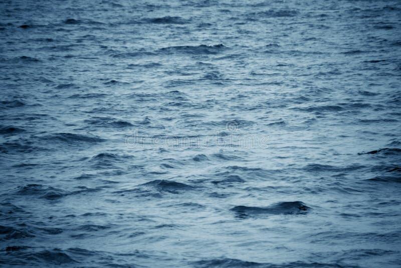 Mar do azul do fundo fotos de stock