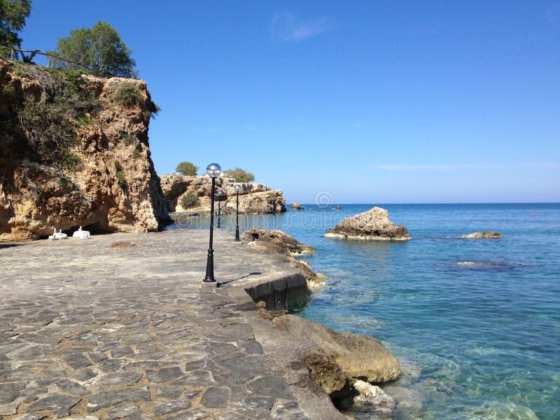 Mar do Cretan fotos de stock