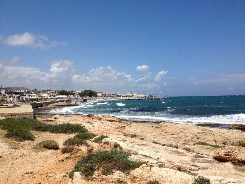 Mar do Cretan fotos de stock royalty free
