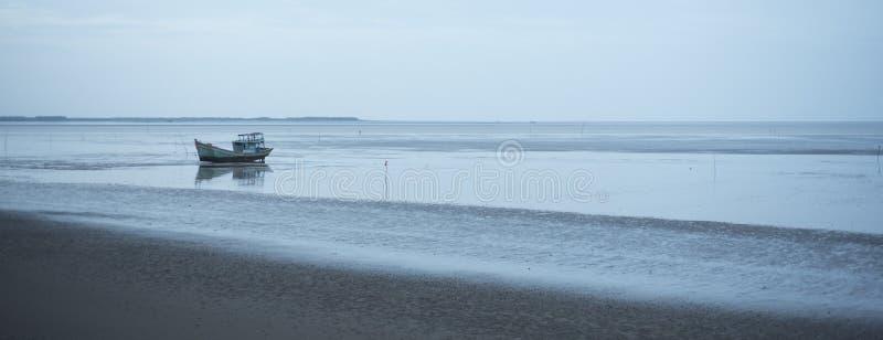 Mar do Sul da China no delta de Mekong imagens de stock royalty free