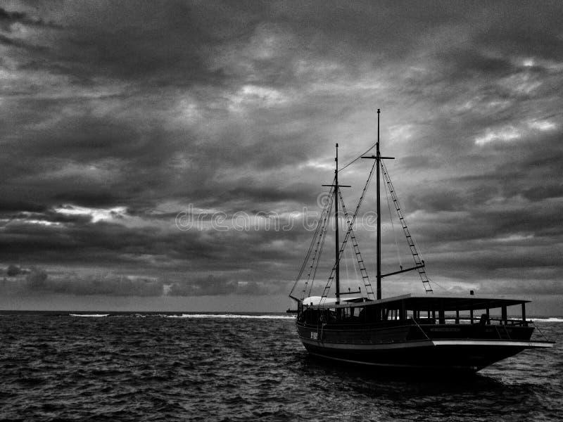 Mar dos medos foto de stock