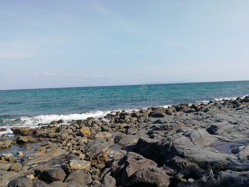 Mar e ambos imagens de stock