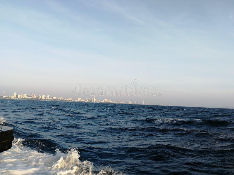 Mar e ambos imagens de stock royalty free