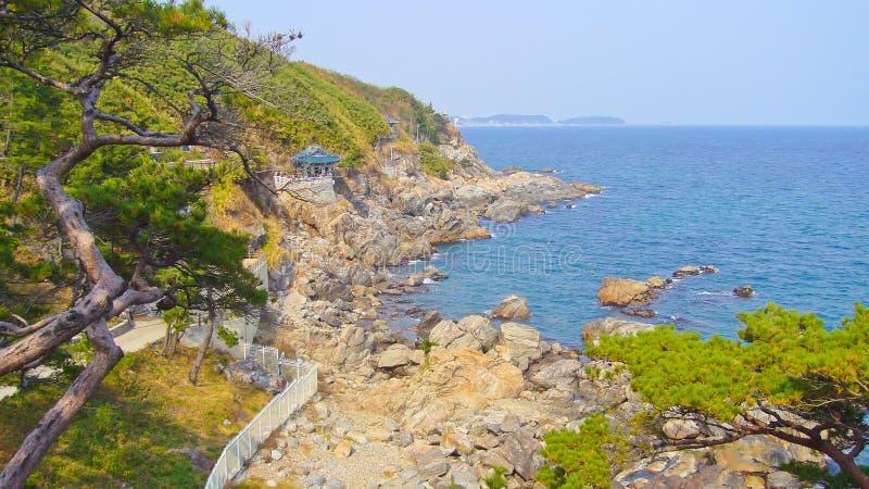 Mar e litoral fotografia de stock