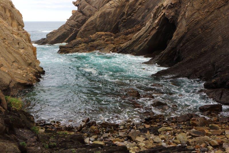 Mar e pedra fotos de stock royalty free