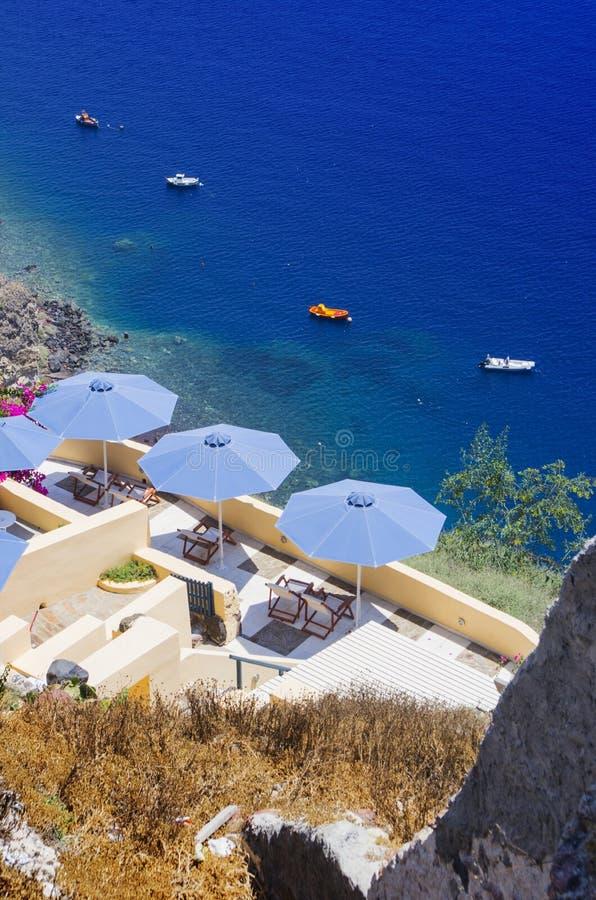 Mar Egeo blu fotografie stock