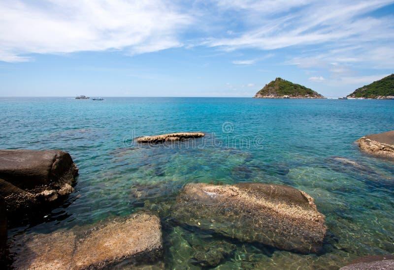 Mar em Tailândia imagens de stock