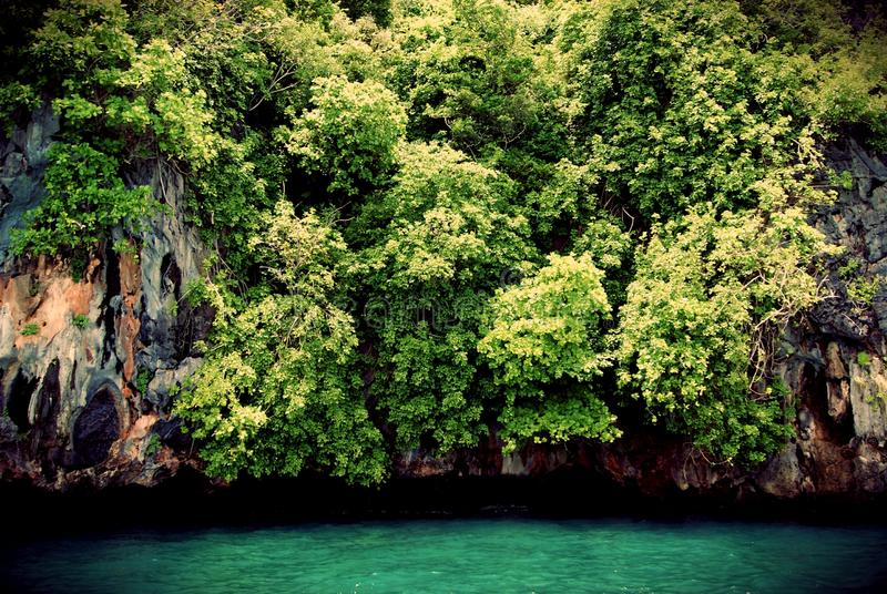 Mar em Trang fotografia de stock