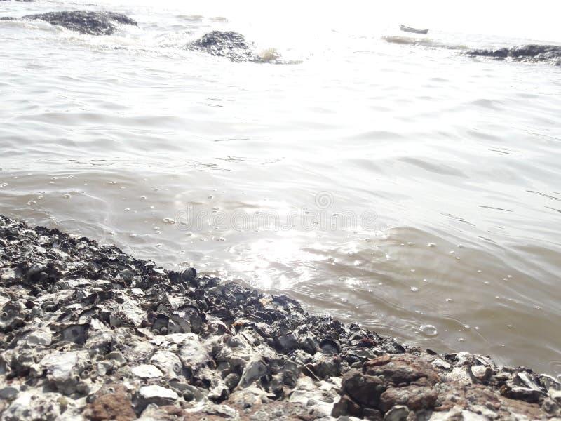Mar en Bombay foto de archivo