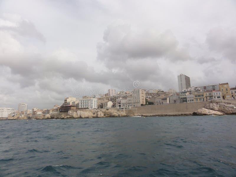 Mar en Marsella - Capitale del Bouches du Rhone imagenes de archivo