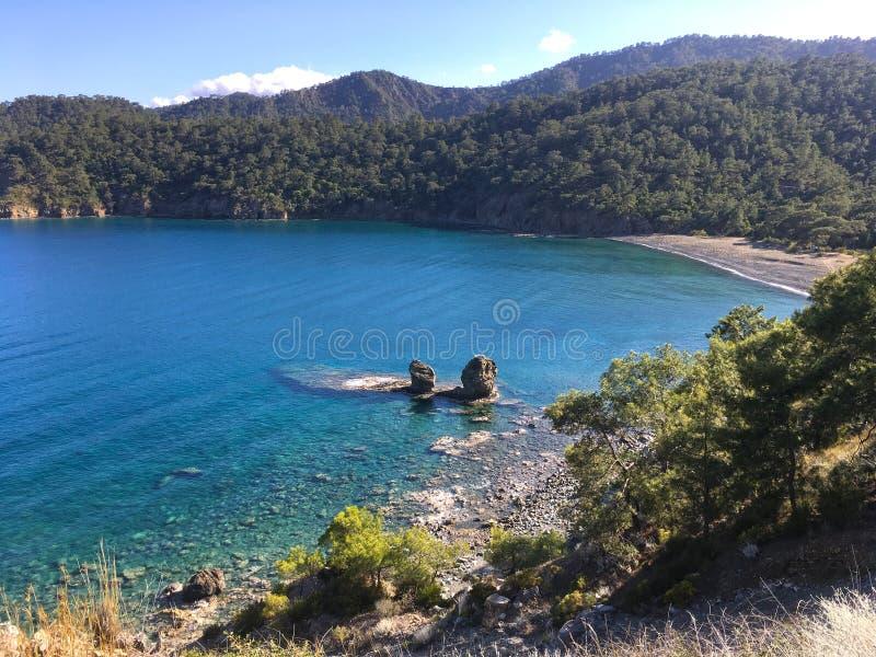 Mar en Turqu?a fotos de archivo libres de regalías