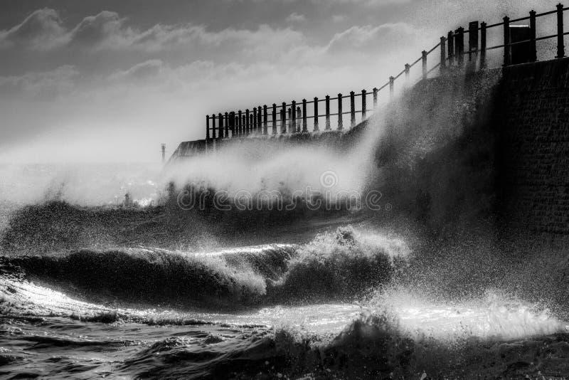 Mar enojado imagen de archivo libre de regalías