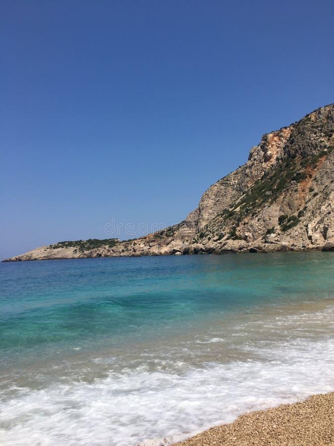 Mar grego fotografia de stock royalty free