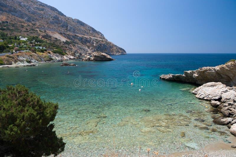 Mar grego foto de stock royalty free