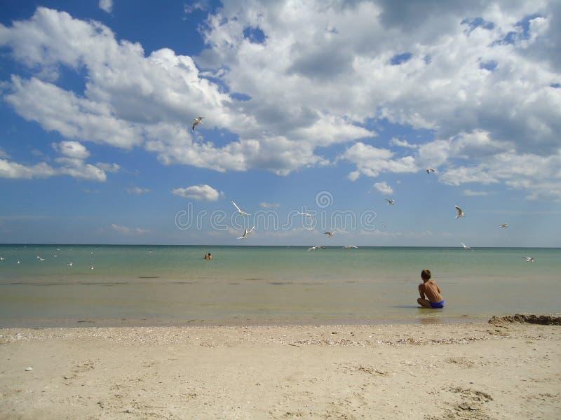 Mar Humor del verano, aire fresco fotos de archivo