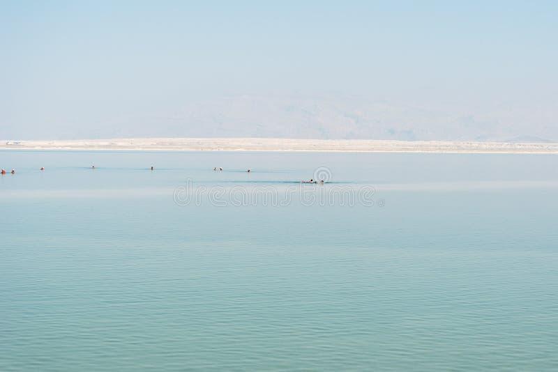 Mar inoperante, Israel imagem de stock