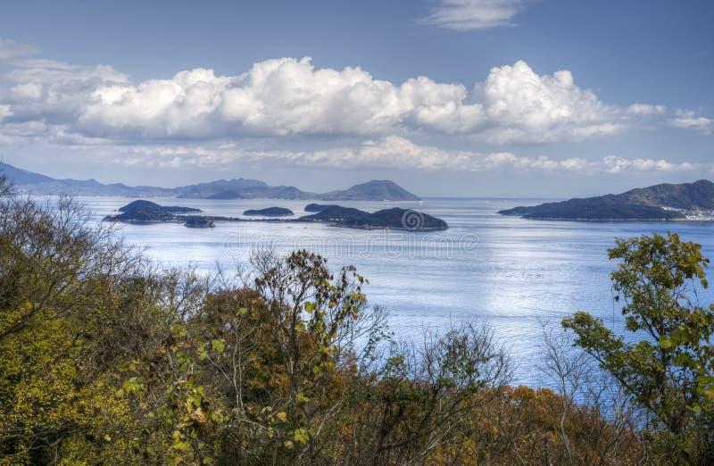 Mar interior del ` s de Japón foto de archivo libre de regalías