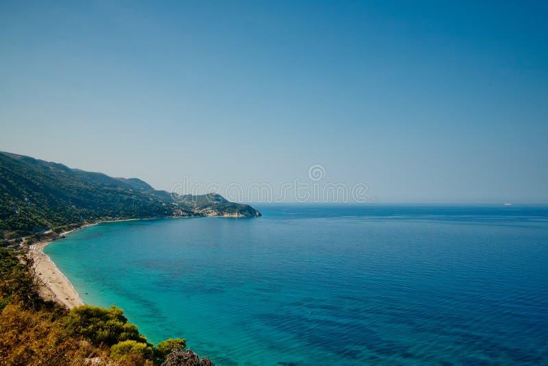 Mar Ionian 2 foto de stock royalty free