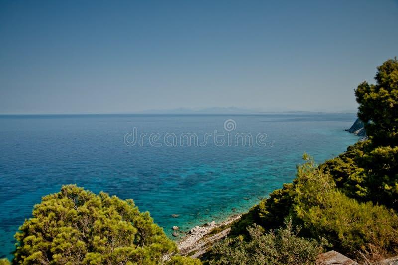 Mar Ionian fotos de stock royalty free