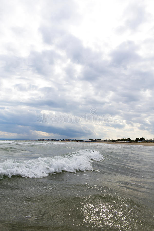 Mar Ionian foto de stock royalty free
